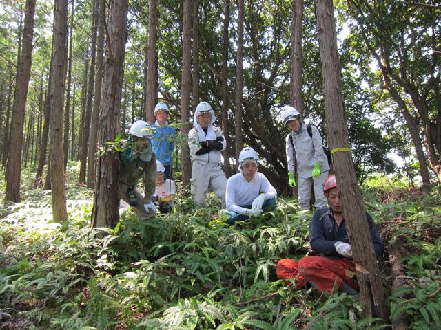 林業体験4日コースの写真3枚目