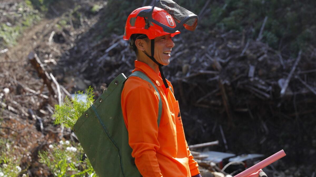 林業従事者インタビュー 繁野秀樹さん