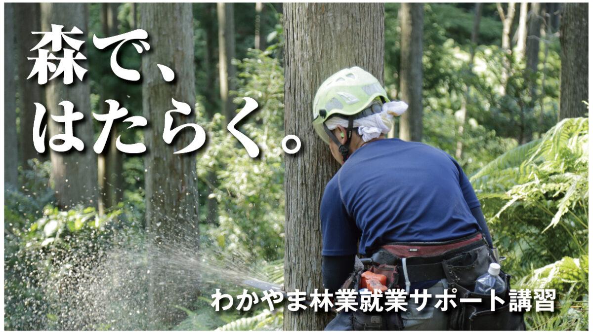 わかやま林業就業サポート講習 1日コース【紀中】日高